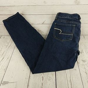 American Eagle skinny stretch denim jeans 4